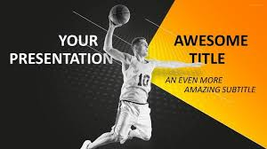 Basketball Powerpoint Template 30 Sports Mega Powerpoint Template