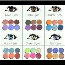 Color Chart Beauty Makeup Eye Makeup Beauty
