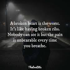 Quotes pain 24 Broken Heart Quotes to Help You Soothe the Pain TheLoveBits 4