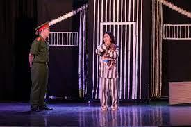 Biểu diễn kịch phục vụ các chiến sĩ tình nguyện Hành quân xanh Thành Đoàn  TP.Hồ Chí Minh