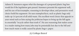 Example Essay Prompts The Sat Essay 2019 2020 What To Expect On College Life