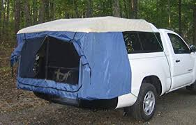 Amazon.com : Mid-Size Truck Camper Tent : Sun Shelters : Sports ...
