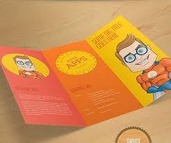 Free Two Fold Brochure Template 20 Free Bi Fold Tri Fold Brochure Templates Psd Vectors