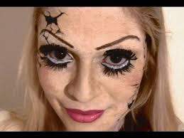 makeup tutorial broken doll by alicelikeaudrey
