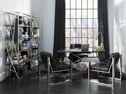 black and white office. Black And White Home Office Decorating Ideas
