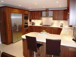 Small U Shaped Kitchen Layout U Shaped Kitchen Designs With Breakfast Bar Home Improvement
