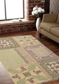 rugsville modern flatweave multi cotton rug 4 x 6