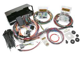 ford 3g alternator harness painless performance 28 circuit direct fit 1966 77 bronco harness w o switches