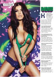 Rosie Jones presents Nuts Magazine s Superboobs Your Daily Girl