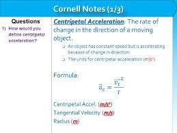 3 centripetal acceleration centripetal
