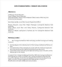 Meeting Notes Example Under Fontanacountryinn Com