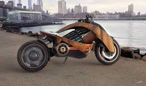This Is Newron Motors' Incredible Curved-Wood <b>Electric Motorcycle</b> ...
