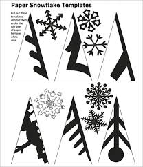 Snow Templates 101 Snowflakes Template Shape Pattern Cliparts Snowflake Patterns