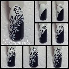 маникюр видео уроки Art Simple Nail Nails Designs Nagelkonst