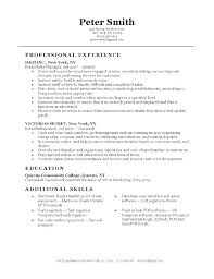 Retail Resume No Experience Cover Letter Template Retail Wsopfreechips Co