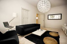 Living Room Pendant Lighting Woven Ball Pendant Lighting Design For Living Room With White Wool