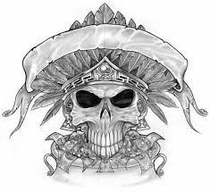 Skull Tattoo Patterns