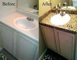 glamorous how to a bathroom vanity ing magnifice ed faux granite at paiing couertop pai refinish