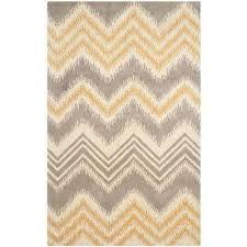 capri gray gold 5 ft x 8 ft area rug