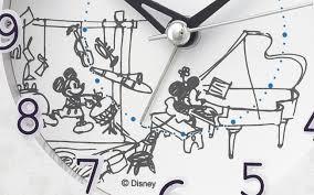 ミッキーマウスとミニーマウスの声で起こしてくれるメロディなど15種類