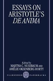 essays on aristotle s de anima by martha c nussbaum 352813