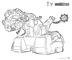 20 Beautiful Dinotrux Coloring Pages Msainfous