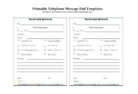 Phone Message Log Book Free Phone Message Template