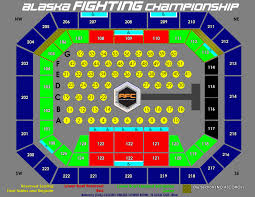 Ppl Seating Chart With Rows Alaska Airlines Center