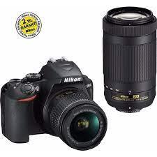 Nikon D3500 AF-P 18-55mm 70-300mm Set DSLR Fotoğraf Makinesi Fiyatı