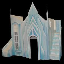 Princess Castle Bedroom Furniture Frozen Inspired Princess Castle Beds For The Ultimate Frozen