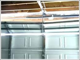 16 foot garage door opener foot garage door support strut ft regarding decor