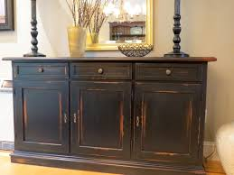 distressed wood furniture. Contemporary Wood Custom Made Black Barn Wood Buffet With Distressed Multi Color Rub Through Throughout Furniture E