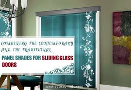 panel blinds for sliding glass doors