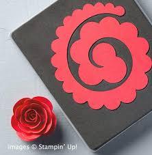 Cardstock Paper Flower How To Make Paper Flower For Handmade Card Decoration Cardstock