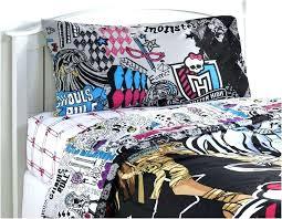 monster high bedding set twin monster high bedding set full monster high twin bedding set complete