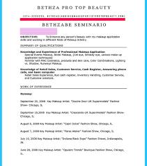makeup artistective resume awful job skills freelance sle 927x1050