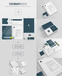 Office Stationery Design Templates 61 Free Branding Identity Stationery Psd Mockups