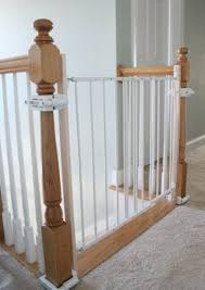 No Hole Stairway Baby Gate Mounting Kit By Safety Innovations ...