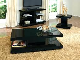 black coffee table sets unique black coffee and end table for living room table set ideas