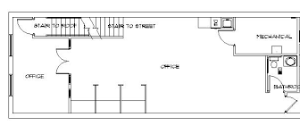 front office layout. Plain Layout Front Office Space 1250 Square Feet Inside Layout: Full Size M