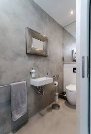 diy architecture designs bath concrete shower cost mode natural floors look amazing in this brand bathroom with polished floor tiles