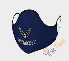 air force veteran face mask