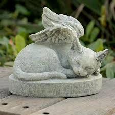 cat angel wings pet memorial outdoor