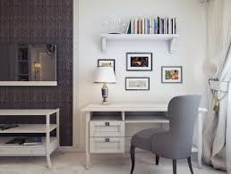 white desks for home office. Wondrous Corner White Home Office Design With Single Desk Desks For Y