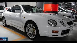Japan Car Auction | 1998 Toyota Celica GT4 - YouTube