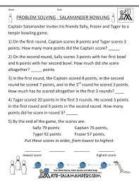 3rd Grade Math Word Problems Worksheets 4th Heaviest Terrestrial ...
