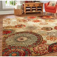 6 x 10 area rug home strata caravan medallion foot by