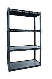 Walmart Utility Shelves Enchanting Storage Shelves Plano Molding Four Shelf Utility Shelving Dark