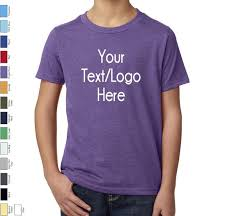 Personalized T Shirt Next Level Youth Cvc Crew 3312 Custom Made T Shirt With Vinyl Or Glitter Print