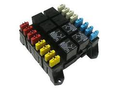 atc ato blade fuse and mini relay block panel holder 12v item information